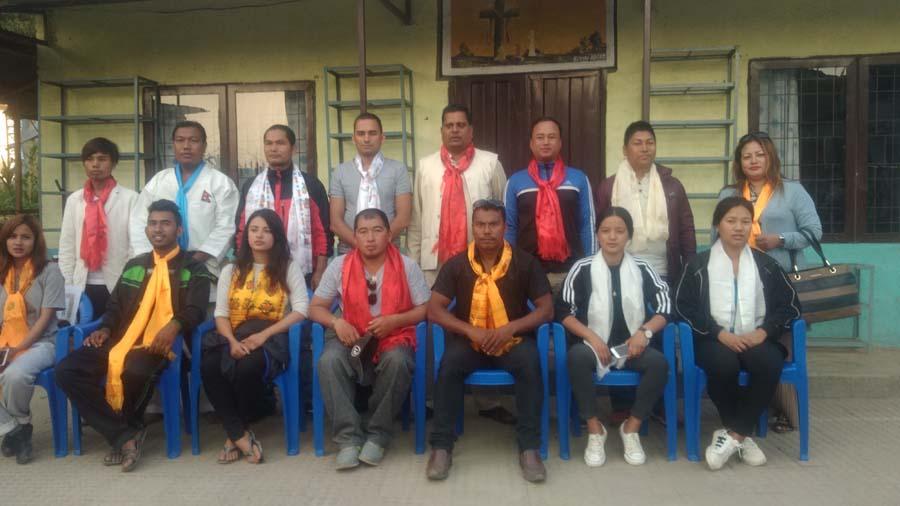 आई डव्लु एफ एन कराँते डो संघ ललितपुरमा प्रविण स्याङतान