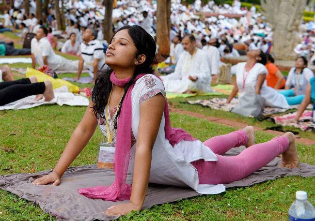 चौथो राष्ट्रिय योग दिवस