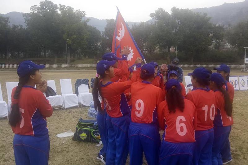 पाकिस्तानलाई नौ विकेटले हराउँदै नेपालद्वारा सिरिज 'क्लिन स्वीप'