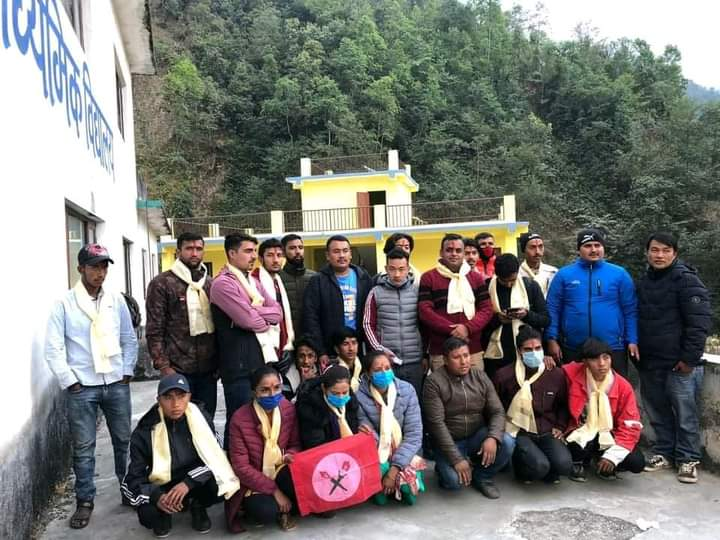 नेपाल विद्यार्थी सङ्घको महांकाल गाउँ कमिटी गठन